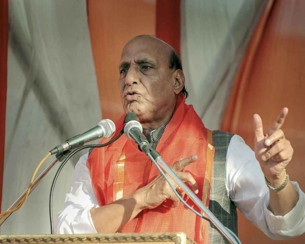 Cong should learn governance from BJP: Rajnath