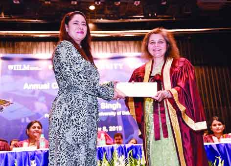 Convocation ceremony at IILM
