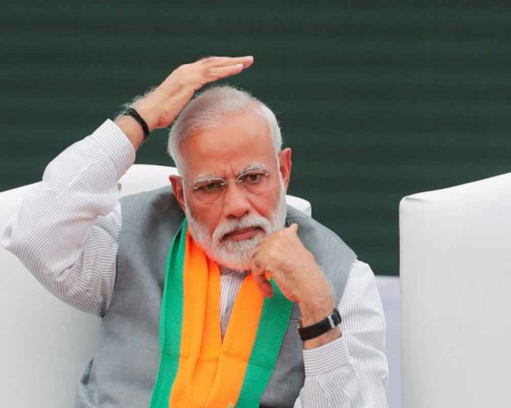 Country should have strong PM with only people as high Command: Modi