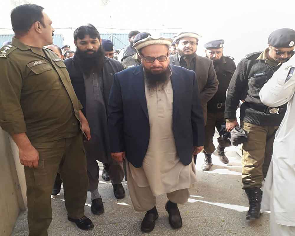 Court adjourns hearing in terror financing case against Saeed till Dec 16 due to lawyers' strike