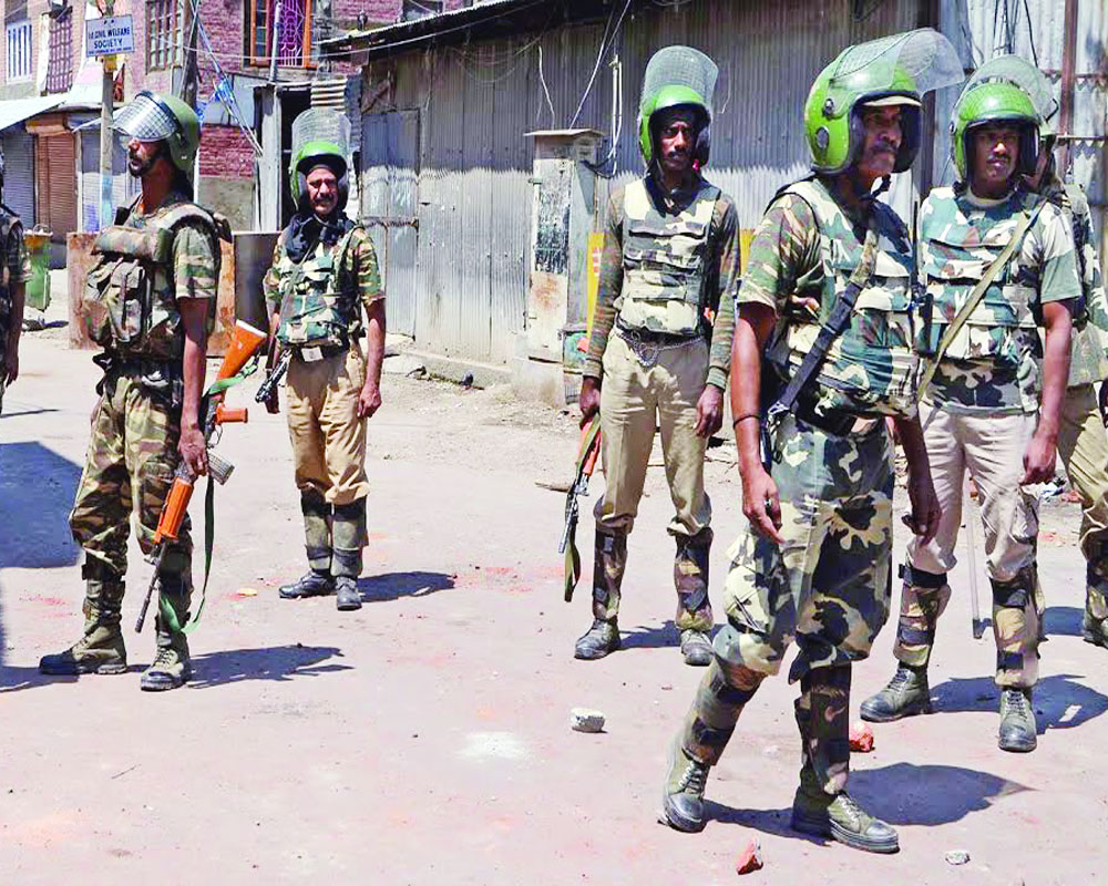 CRPF And Internal Security