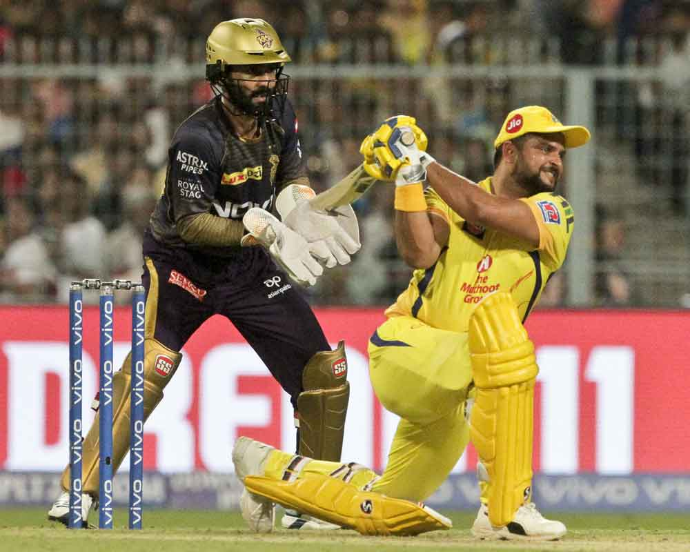 CSK beat KKR by 5 wickets