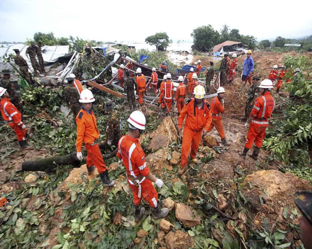 Death toll in Myanmar landslide climbs to 56