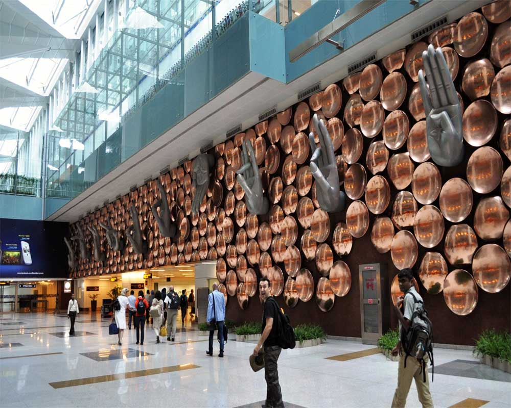 Delhi airport plans expansion to increase annual passenger capacity  to 100 mln by 2022
