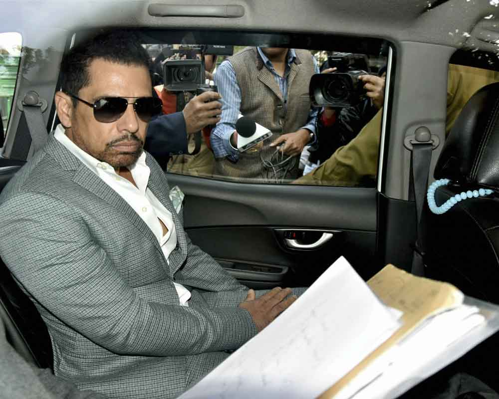 Delhi court directs ED to provide copies of seized documents to Robert Vadra