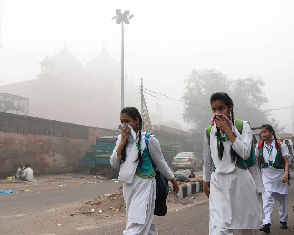 Delhi's air quality deteriorates to 'very poor' category
