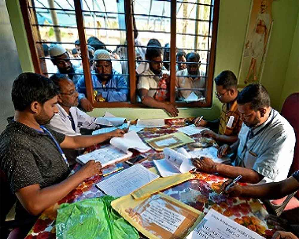 Final NRC released, excludes 19 07 lakh applicants