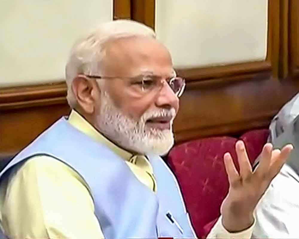 First decision dedicated to those who protect India: Modi