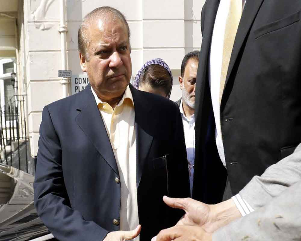 Former Pak PM Nawaz Sharif leaves for London for medical treatment