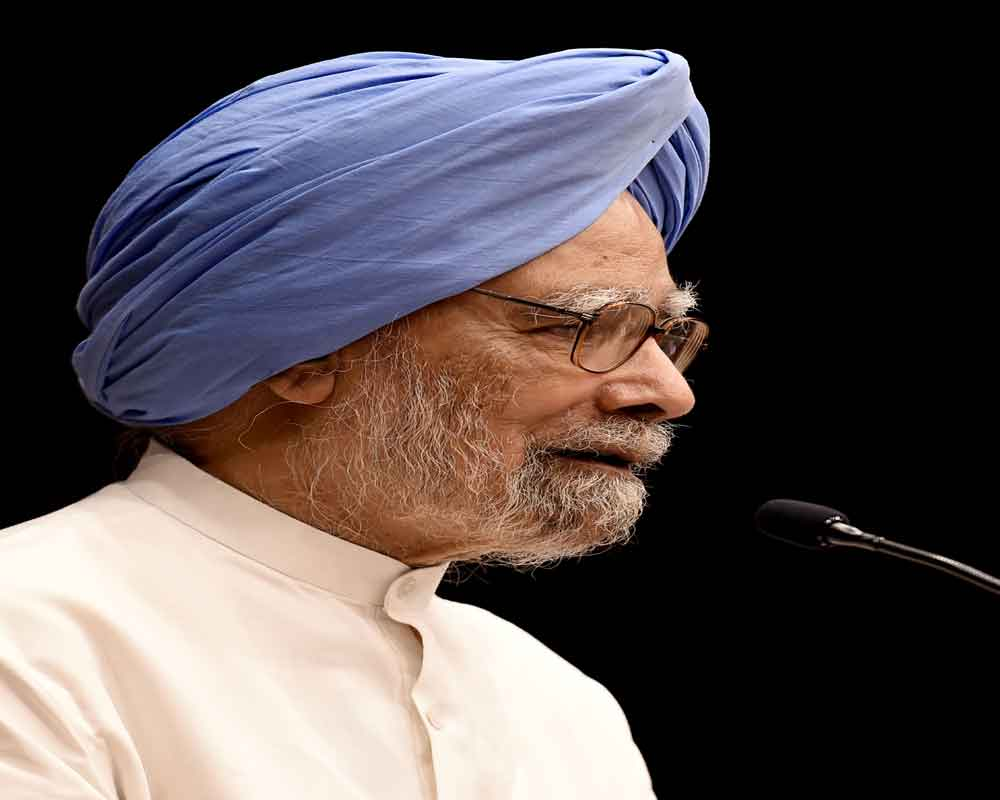 Former PM Manmohan Singh files RS nomination from Rajasthan