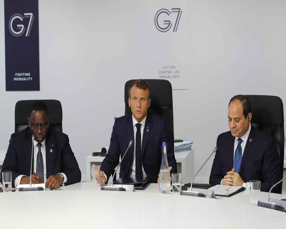 G7 to help countries hit by Amazon fires 'as fast as possible': Macron