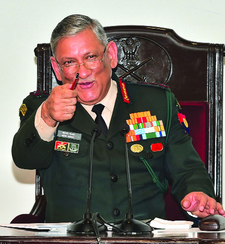 Gay sex can't be allowed in Army: Chief