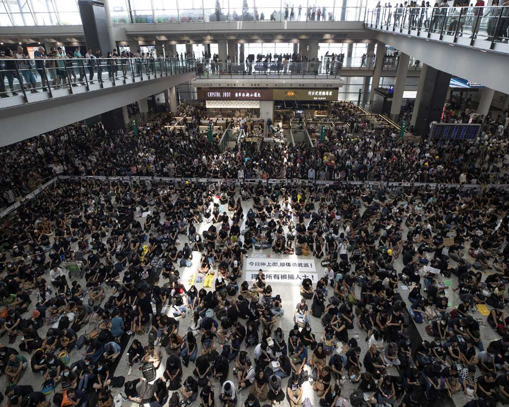 Hong Kong aims to reopen airport after protester shutdown