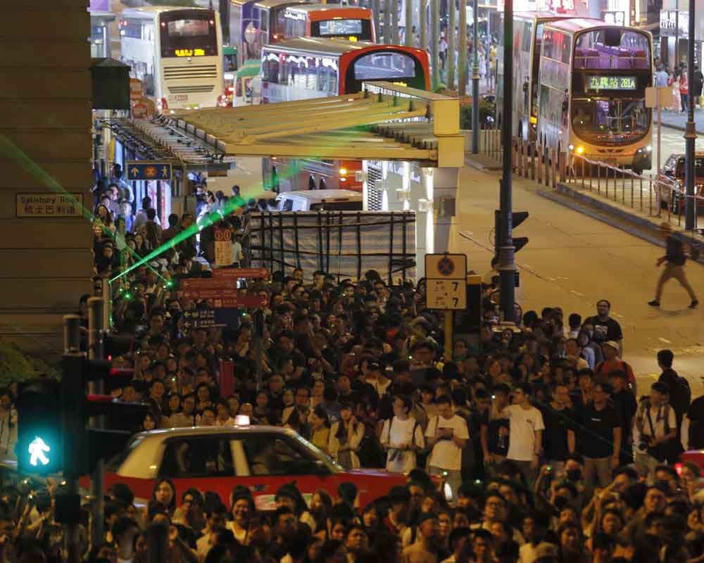 Hong Kong reassures visitors of safety as protests continue