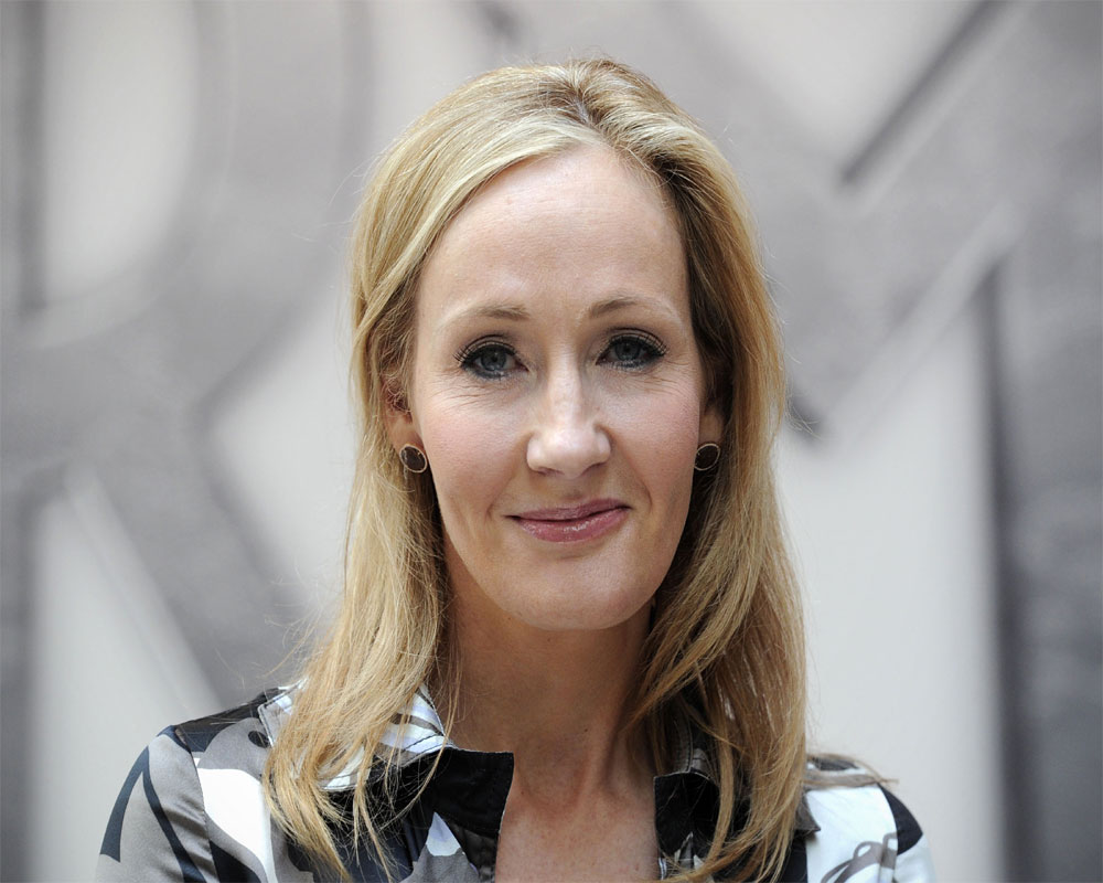 I can't separate 'writing life' from 'life', says JK Rowling