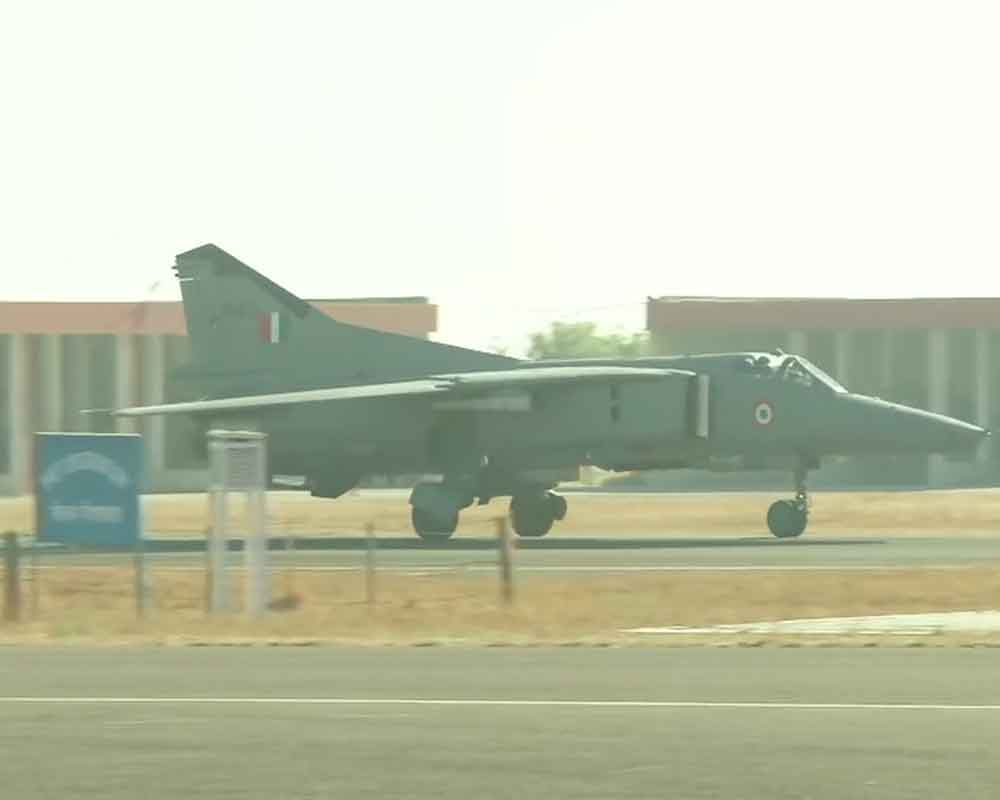 IAF's MiG-27 decommissioned from Air Force