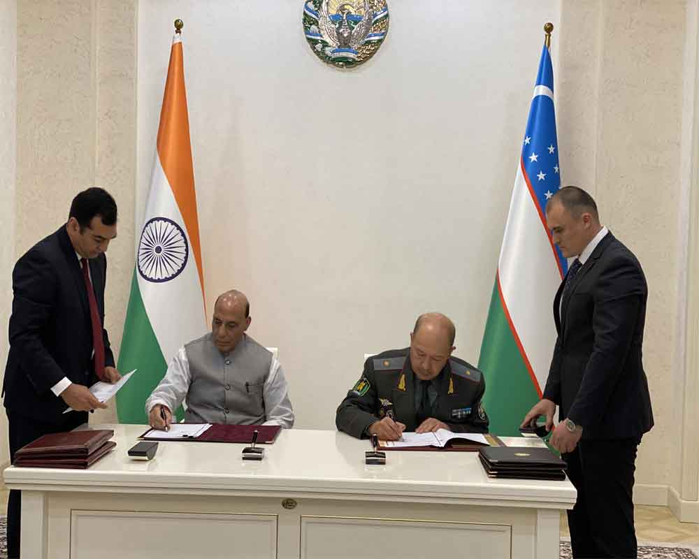 Image result for India, Uzbekistan Ink Three Pacts on Cooperation in Security Ties