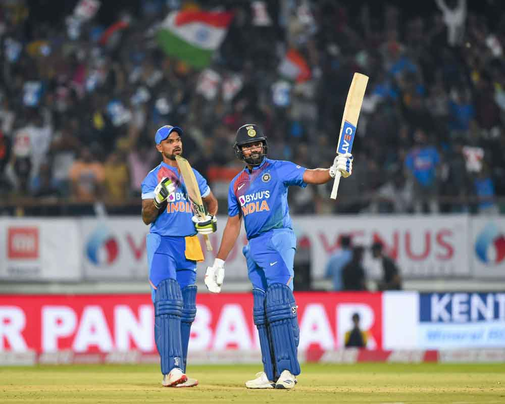 India beat Bangladesh by eight wickets to level series