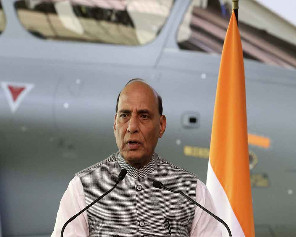 India-France defence dialogue reviewed full spectrum of bilateral ties: Rajnath Singh