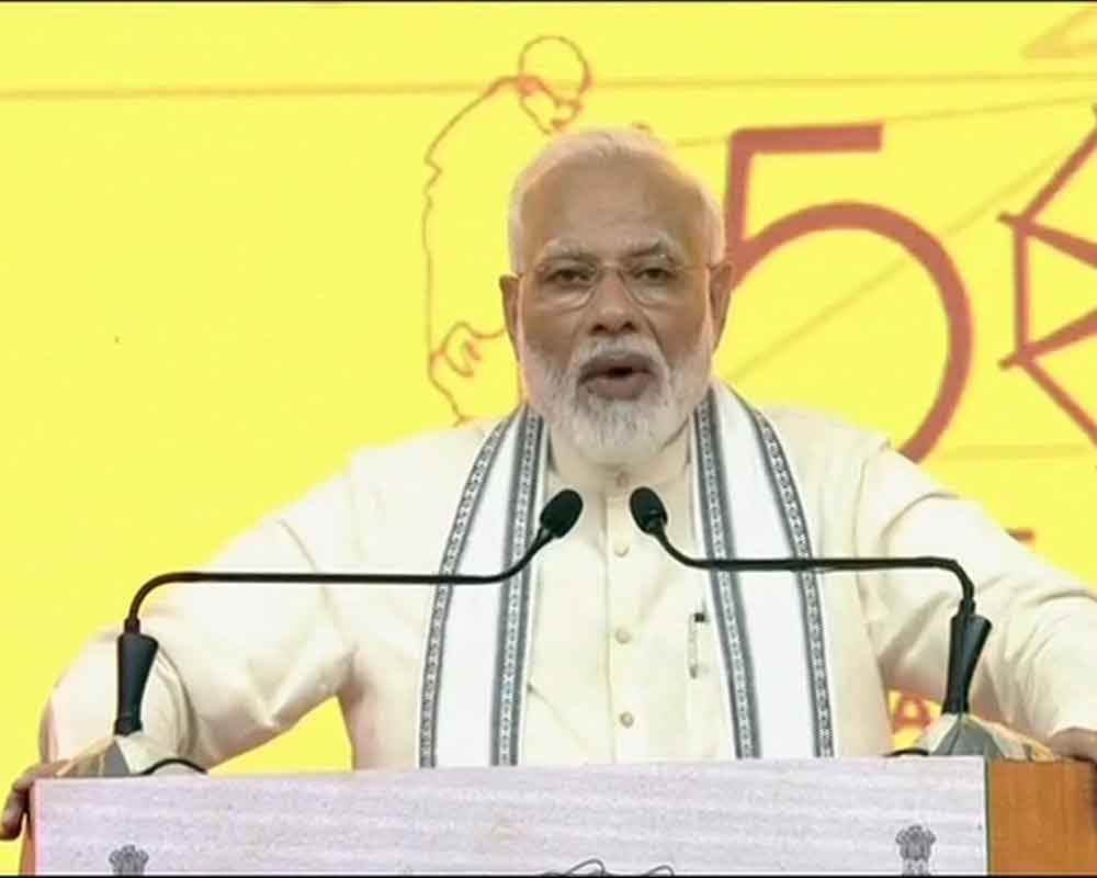 India open defecation-free, country's stature on rise: Modi
