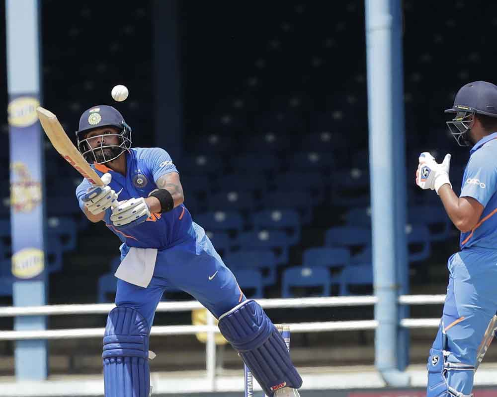India score 279/7 against West Indies in 2nd ODI