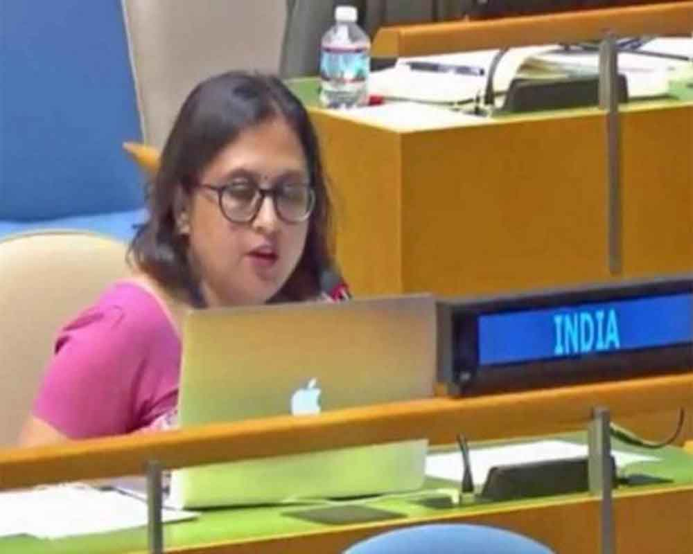 India slams Pak for 'weaponising' women's rights issues at UNGA