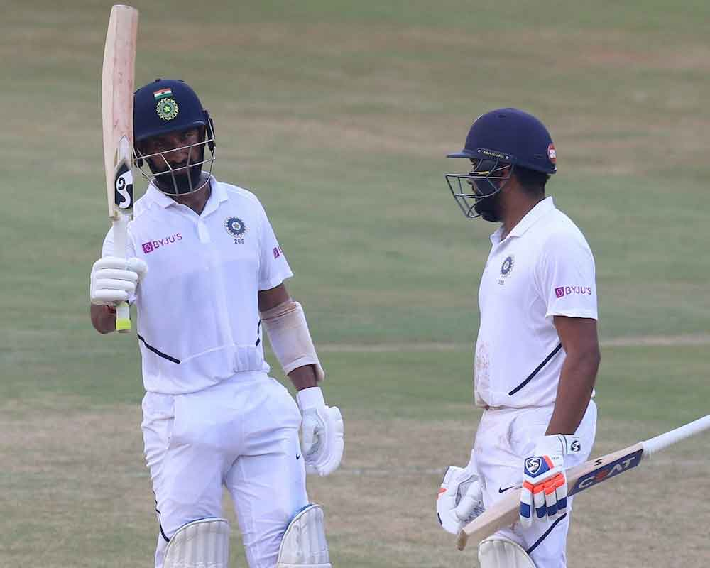 India were 175/1 at tea on Day 4