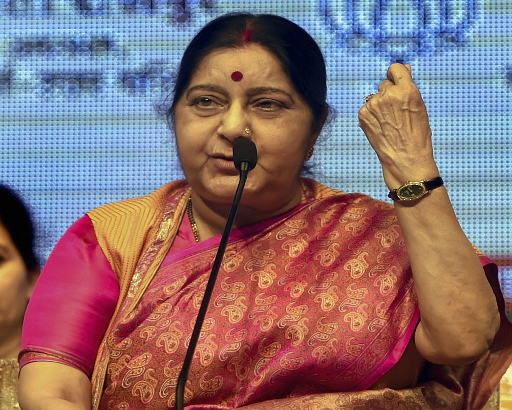 India won't escalate situation with Pak, but won't take Pulwama as its destiny: Swaraj