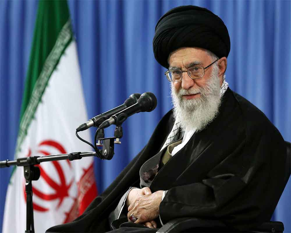 Iran's Khamenei says 'there is not going to be any war' with US