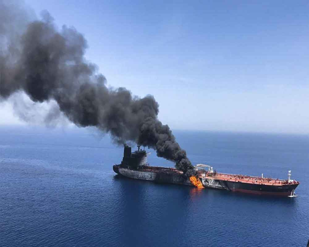 Iraq pushes US for 'calm' after Gulf tanker attacks