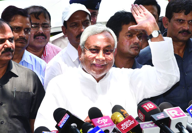 JD(U) won't join Modi Govt even in future: Nitish