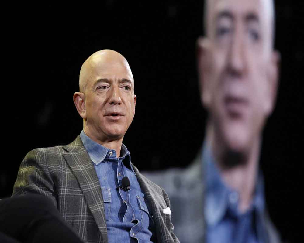 Jeff Bezos envisions Moon's ice water as rocket fuel