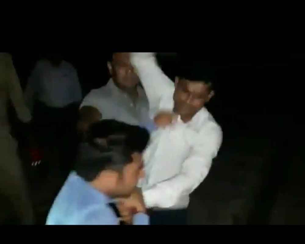 Journalist thrashed, urinated upon by GRP men in UP