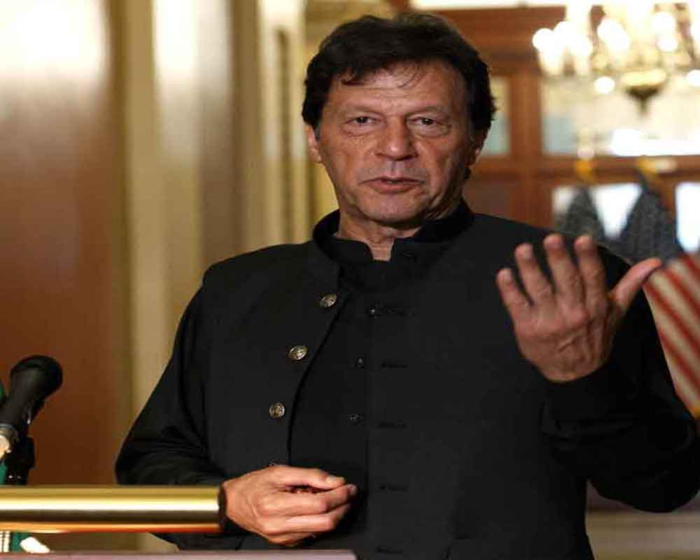 Kashmir first line of defence for Pak: PM Khan