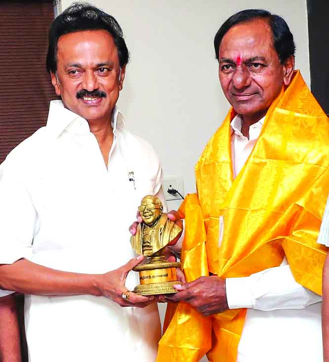 KCR's Federal Front odyssey halts at Stalin