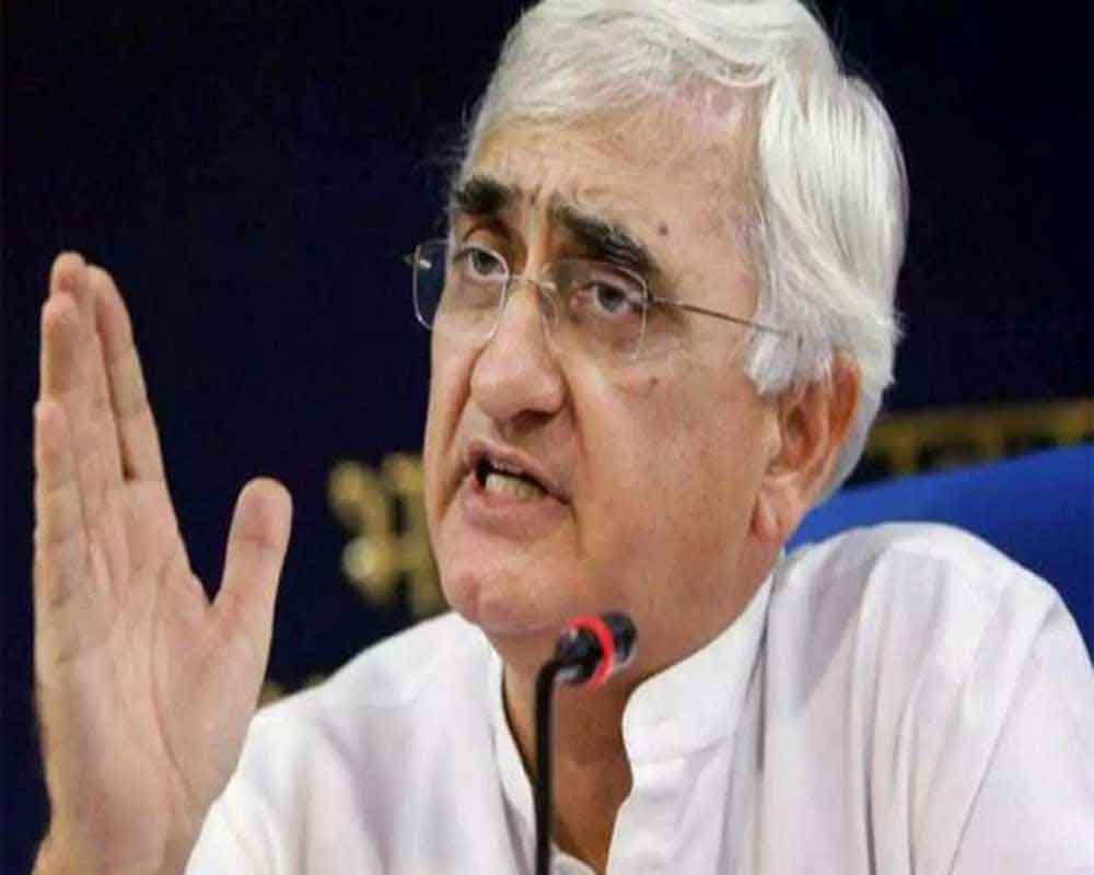 Khurshid suggests Rahul shouldn't have quit as Congress chief