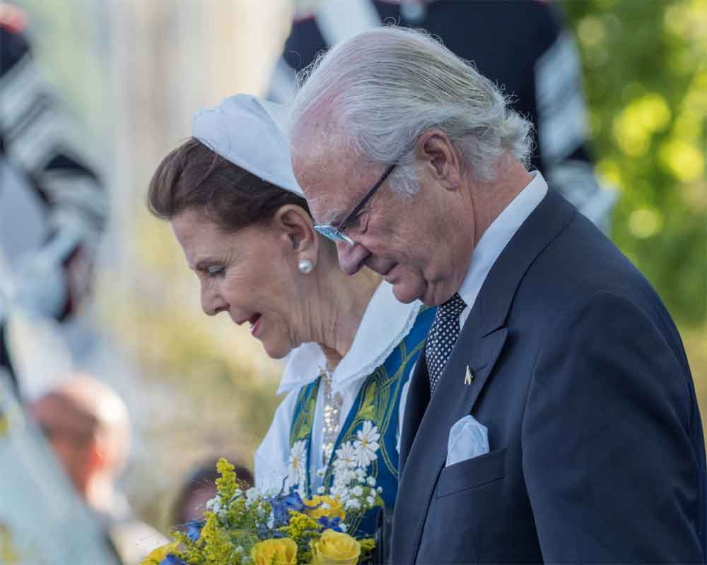 King, Queen of Sweden arrive in Delhi on five-day India visit, meet EAM Jaishankar