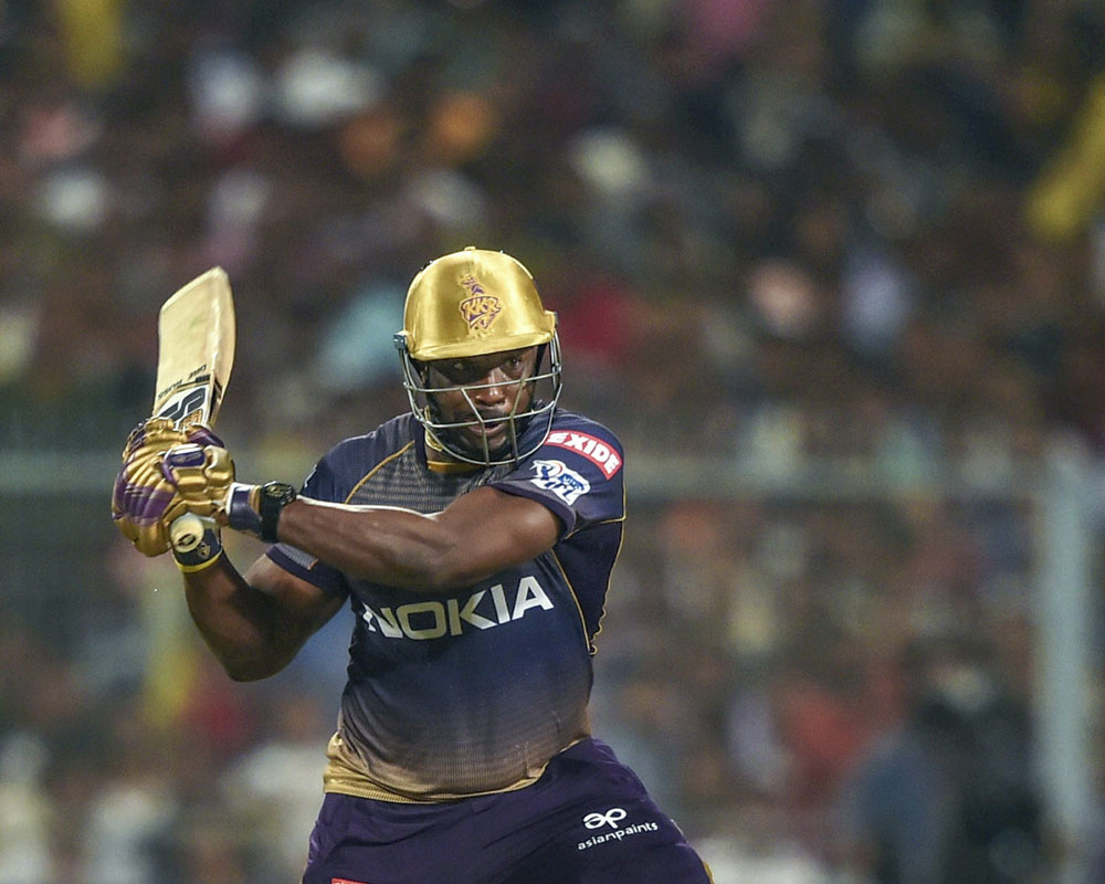 Russell outshines Gayle as KKR take down Kings XI