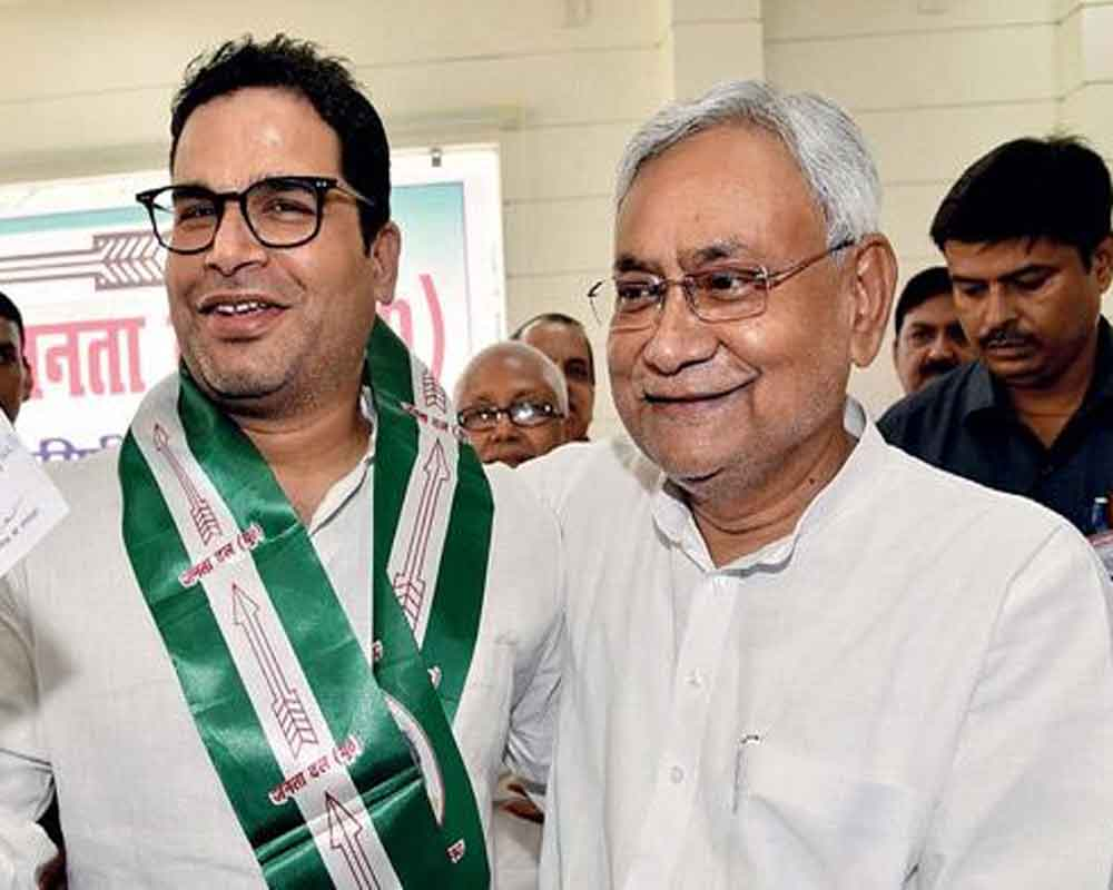 Lalu's claim that I met him to negotiate Nitish's return to Grand Alliance bogus: Kishor