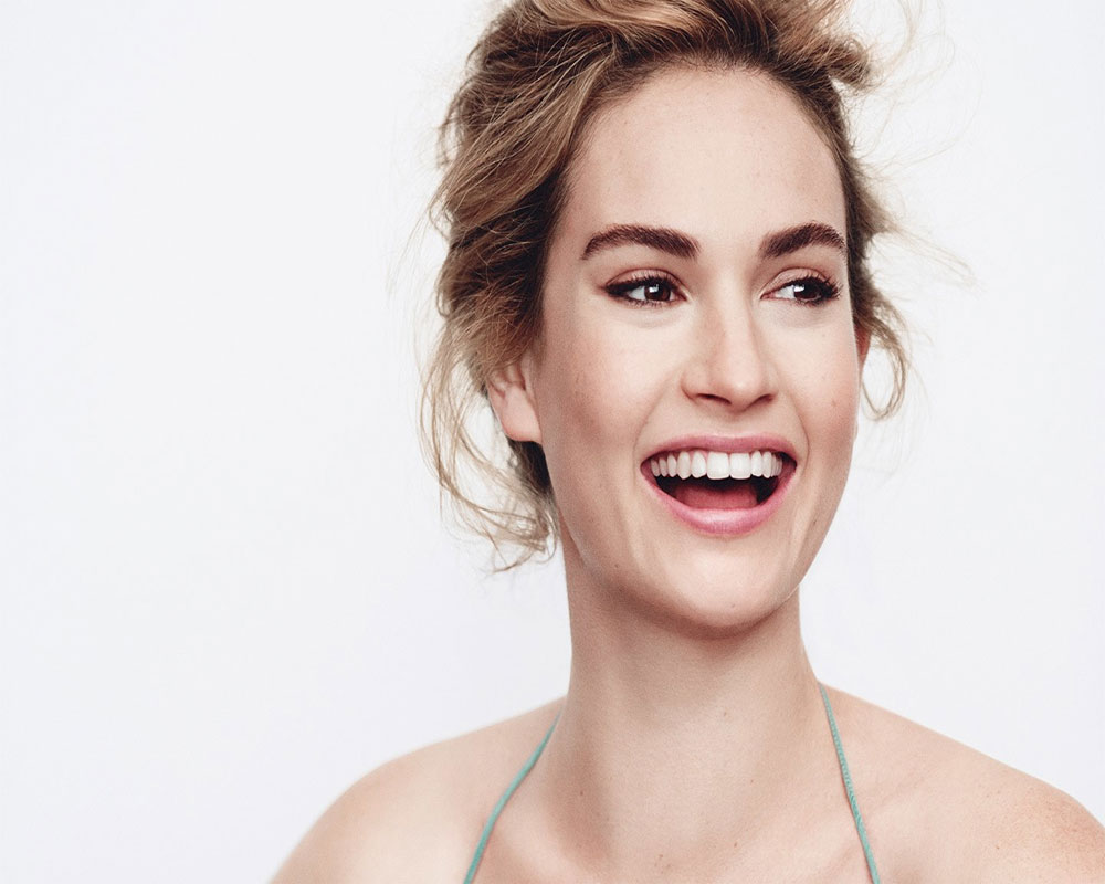 Lily James Image: Lily James Wants To Shed Her Cinderella Image