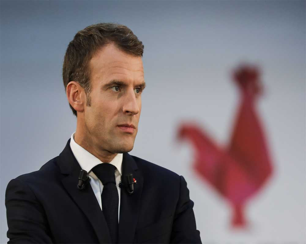 Macron says does not want to see new Brexit delay