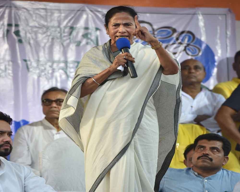 Mamata asks TMC leaders to recapture offices 'occupied' by BJP