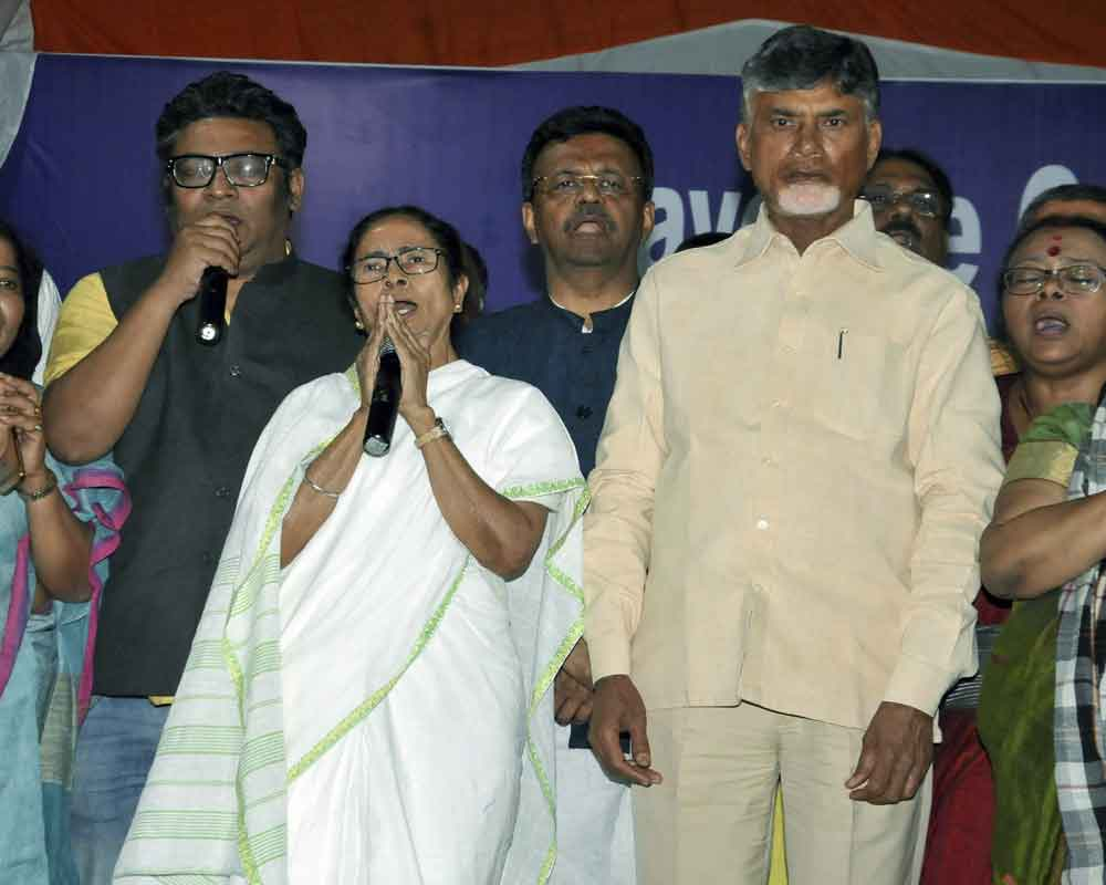 Mamata extends support to Naidu's fast