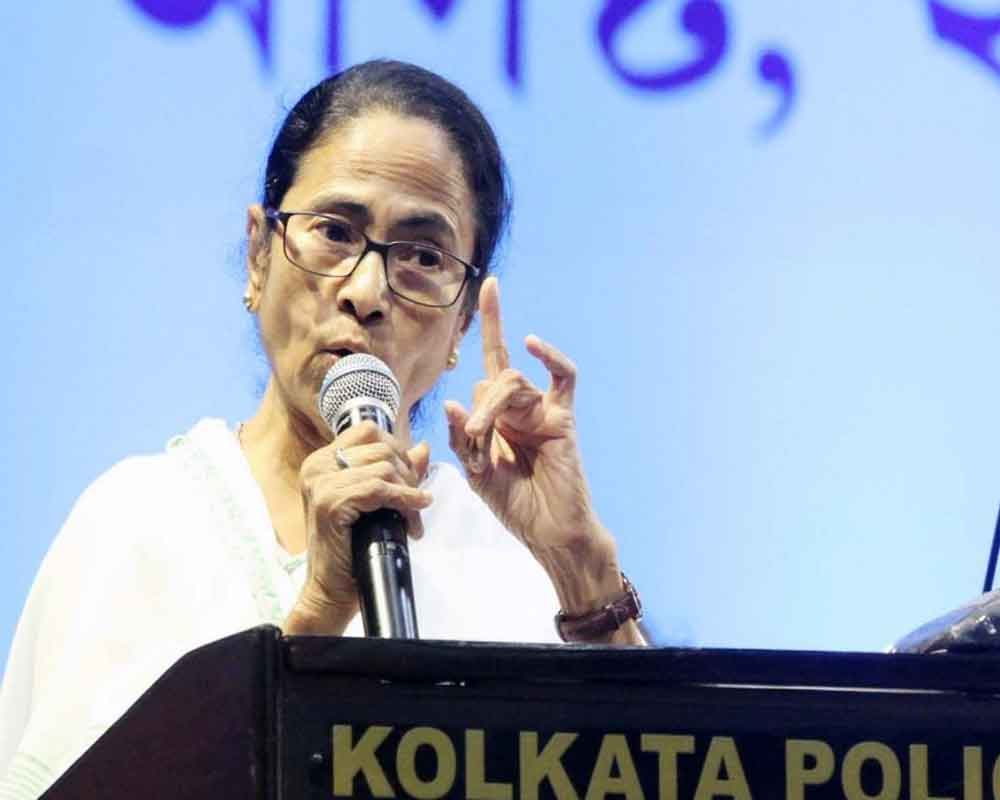 Mamata warns BJP not to play with fire in the name of NRC