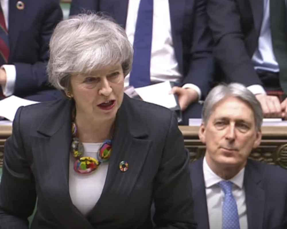 May asks MPs to hold their nerve on Brexit talks