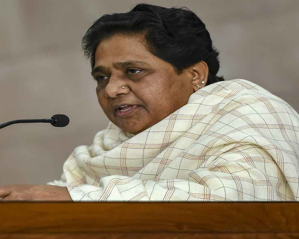 Mayawati accuses BJP of indulging in 'petty' politics after Pulwama terror attack