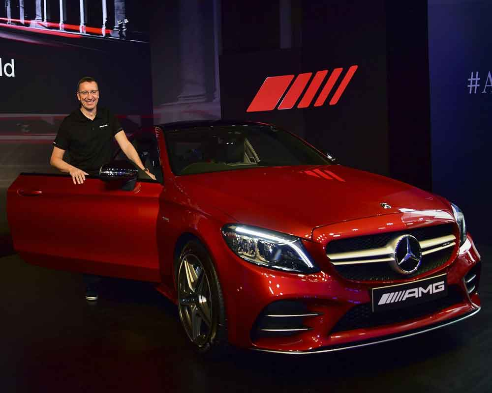 Mercedes-Benz launches AMG C 43 4MATIC Coupé in India priced at Rs 75 lakh