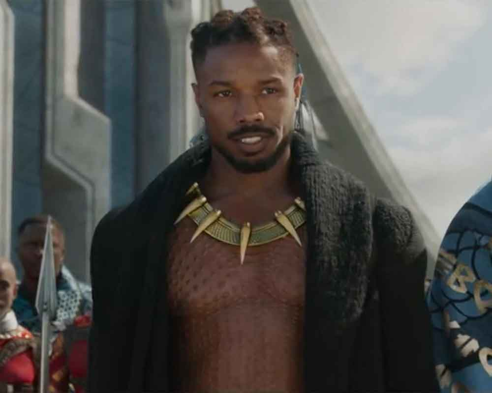 Michael B Jordan opted for therapy after playing villain in