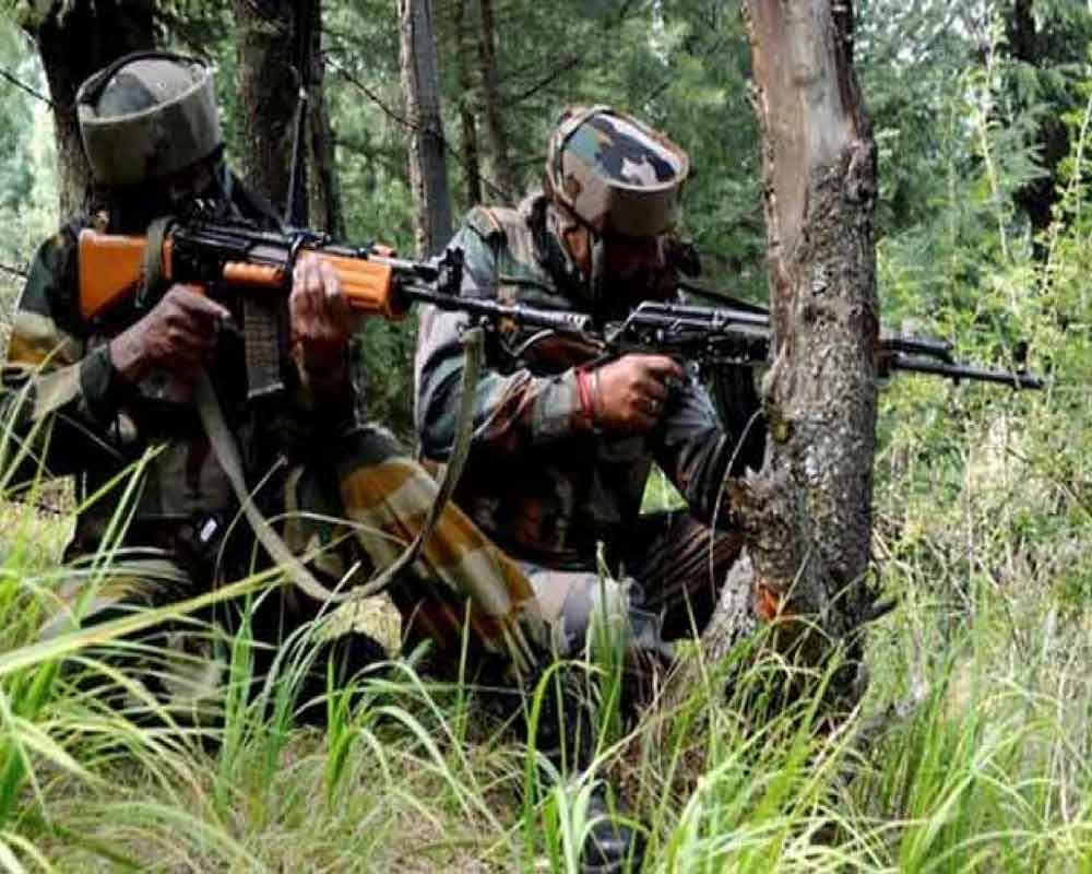 Militant killed in encounter with security forces in J-K's Baramulla