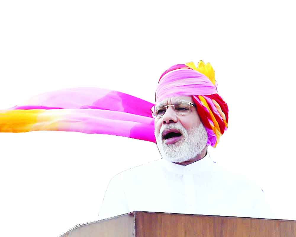 Modi to script largest oath-event history